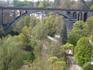 Один из старых люксембургских мостов