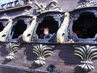Прогулка на пиратском кораблике в Суссе