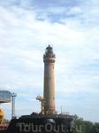 старый маяк при впадении Свины в Балтийское море