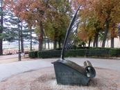 Небольшой парк El Rastro со смотровой площадкой с видом на часть города вне крепостных стен.