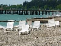 В ожидании..(Пляж в Новом Афоне)