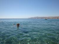 Ласковое, прозрачное Красное море