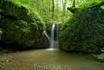 """Водопад,обнаруженный нами в лесу вблизи турбазы""""Лесная Поляна"""""""