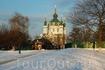 Андреевская церковь , вид с пейзажной алеи