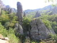 Необычные формы Долины Привидений :)