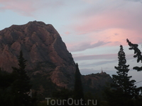 гора Сокол в лучах заката