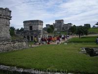 Тулум - город индейцев майя