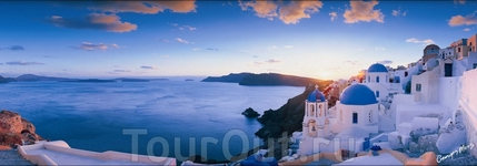 Греческие острова: белоснежные домики, лазурно-бирюзовое море и потрясающе красивые закаты!