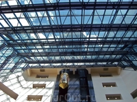 Международный бизнес центр (вид изнутри)