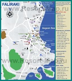 Карта Фалираки