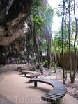 Единственная тропа на Pra Nang Beach