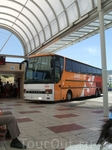 автобусная станция в Тоссе де Мар