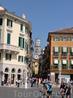 В просвете улицы видна Башня дей Ламберти