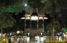 Пласа-де-Армас в центре города Оахака