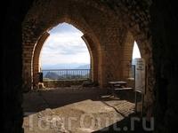 Балкон замка