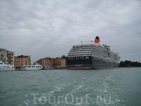 Венеция...круизный лайнер Королева Виктория