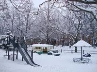 детская площадка в парке Сибелиуса
