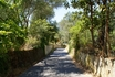 дорога от отеля к центру деревни