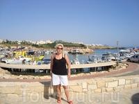 порт рядом с отелем