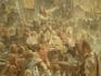 Монументальная картина «Минин на площади Нижнего Новгорода, призывающий народ к пожертвованиям», задуманная Маковским, требовала длительной подготовки ...