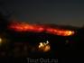 Лесные пожары на острове