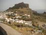Вид с шоссе на  Акрополь