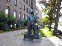 Копенгаген. Памятник Г.Х.Андерсену