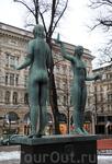 Скульптуры Эспланады имеют привычный классический облик.