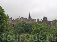 А вот и столица Шотландии - г. Эдинбург