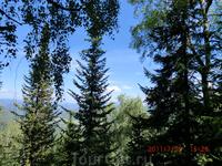 Поэтому с вершины горы сделать понорамный снимок не возможно.