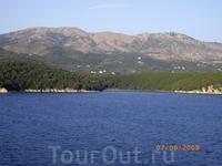 Вид на любимый остров с парома