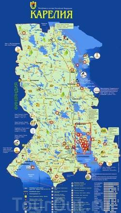 карта карелии скачать бесплатно - фото 9