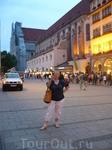 пошли гулять по вечернему Мюнхену.