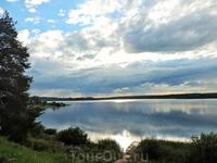 И еще один вид Юксовского озера