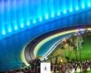 Поющий фонтан в Ташкент сити