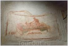 фреска в лупанарии