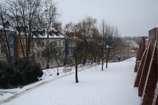 Вид со стен Старого города