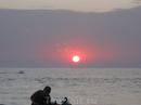 Закат. Говорят  в Индии закат самый красивый в мире.