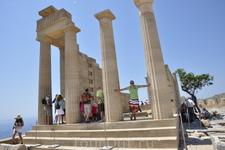 Остатки храма Афины Линдии