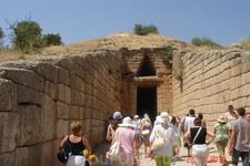 Древняя Греция- Микены-царство Агамемнона, возглавившего поход на Трою.