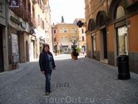 На городской улице