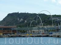 портовые ворота Барселоны