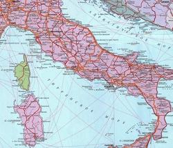 Ватикан на карте