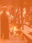 Летом в музее Луфутр готовят похлебку по рецептам викингов...
