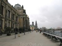 """Брюлльская терраса - """"Балкон Европы"""""""