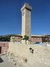 Сооружение было возведено в XVI веке, а в 1926 году реконструировано в стиле мудехар. Наверху появилась квадратная колокольня, стены были увенчаны зубцами ...