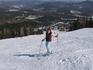 Апрель 2007г. Гора Зеленая, примерно 1/3.