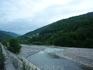 Река Пзезуапсе в п. Лазаревское