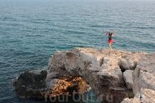 шум моря и порывы ветра-это свобода