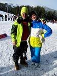 Эдуардо и Светландо) сноубордолюбители